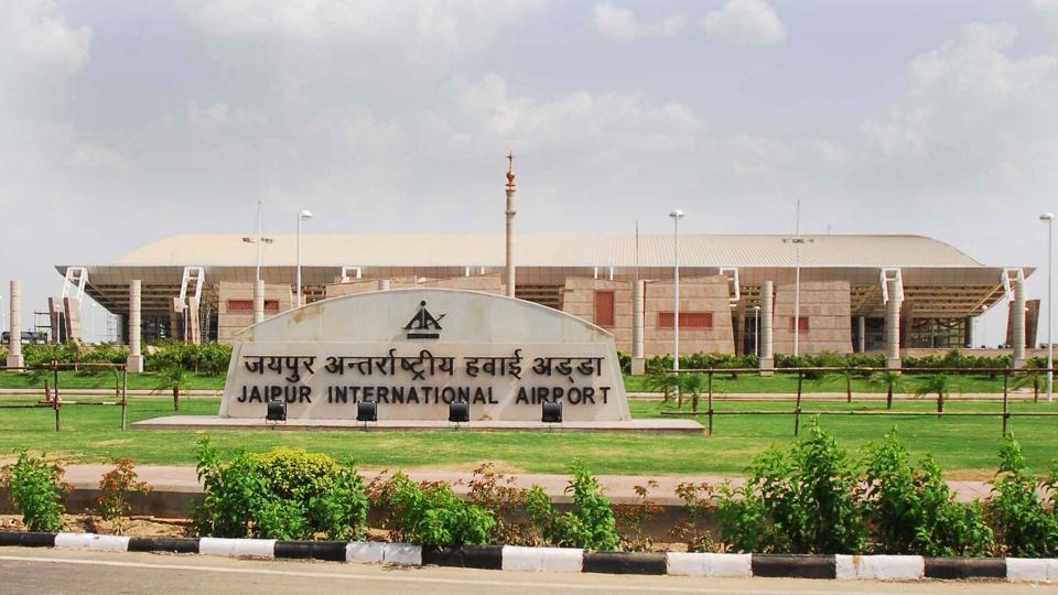Jaipur airport positioned 17