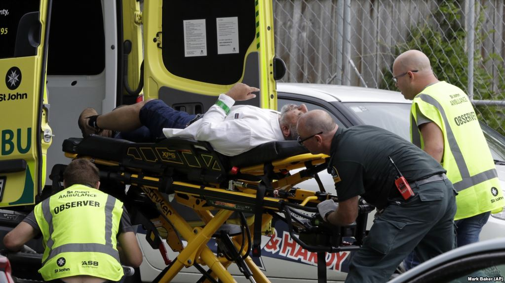 Massive attack reported at Christchurch