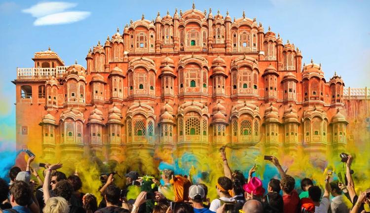 Holi Festival 2019 In Jaipur