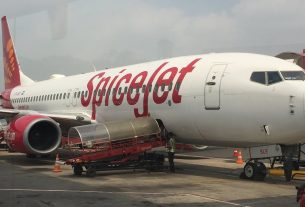 Spicejet flight from Jaipur to Kangra