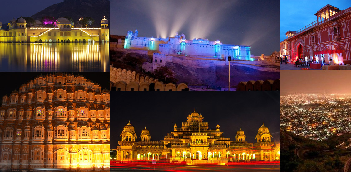 Jaipur night tourism package
