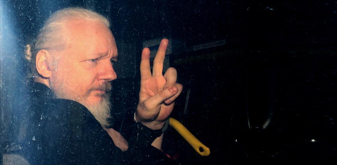 Julian Assange, Wikileaks founder caught in London