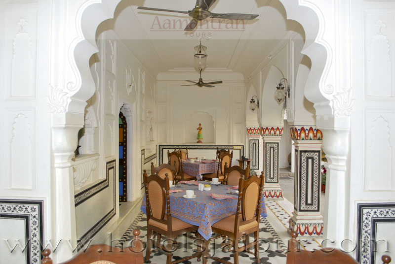 Saba Haveli Restaurant In Jaipur