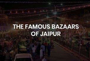 The famous bazaars of jaipur