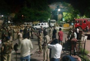 Two groups clashed late night in Jaipur, tension in the area
