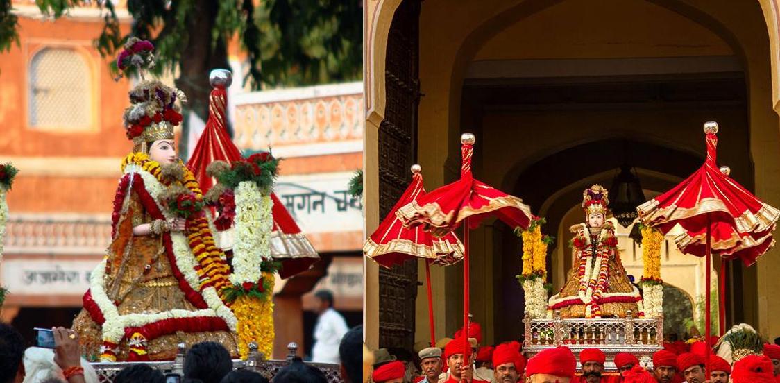 Vivacious Gangaur Festival In Jaipur