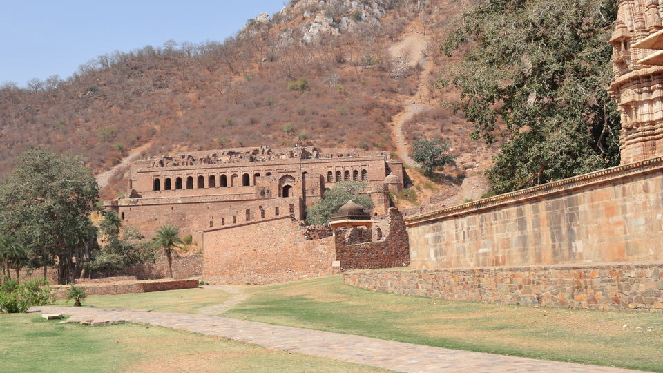 Bhangarh Fort  A deserted town