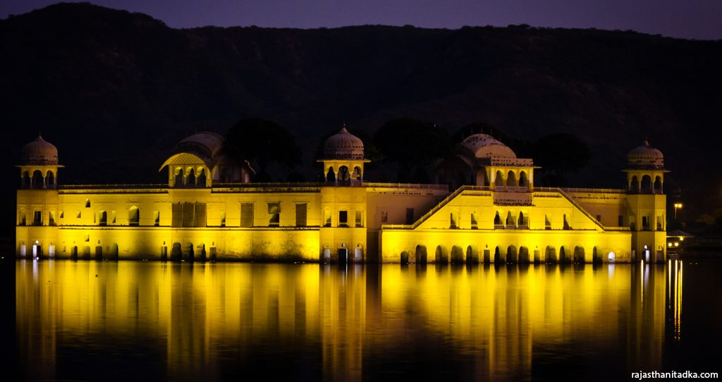 Evening at Jal Mahal