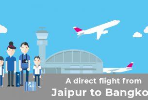 Jaipur to Bangkok Flight