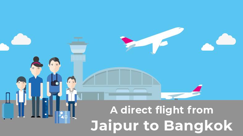 Jaipur to Bangkok Flight