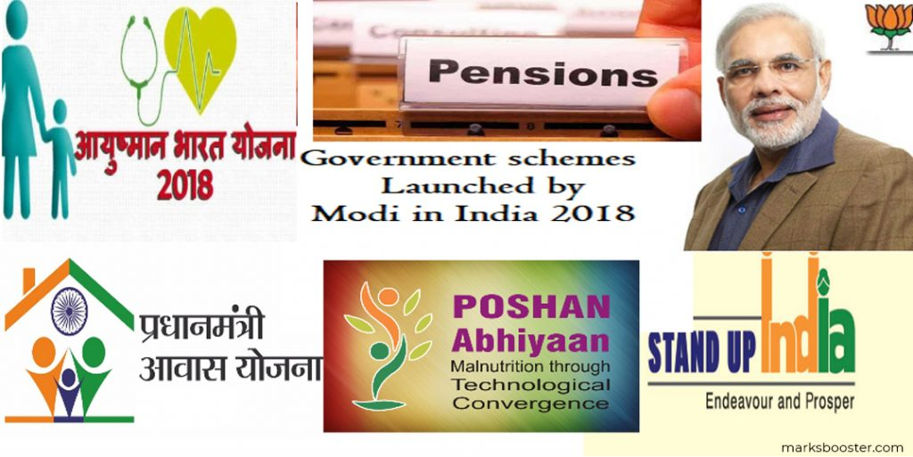 Modi's government schemes