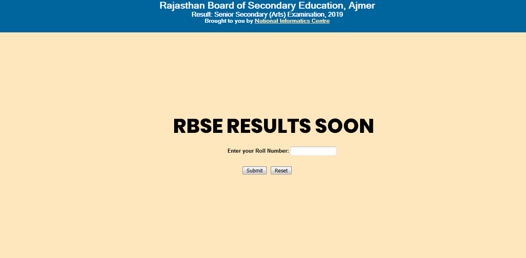 RBSE to declare Class 12 results soon
