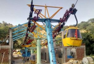 Ropeway at Samod Veer Hanuman temple launched