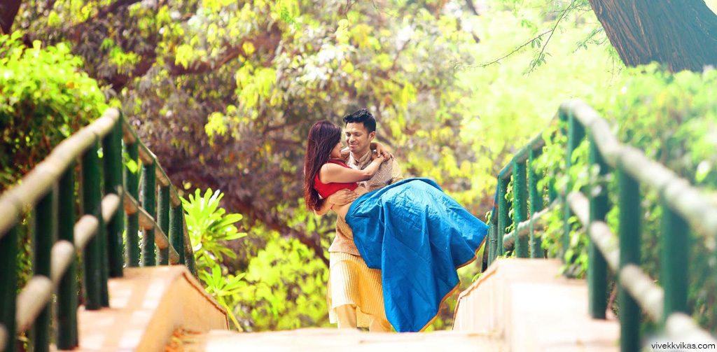 pre wedding shoot Kanak Vrindavan Garden