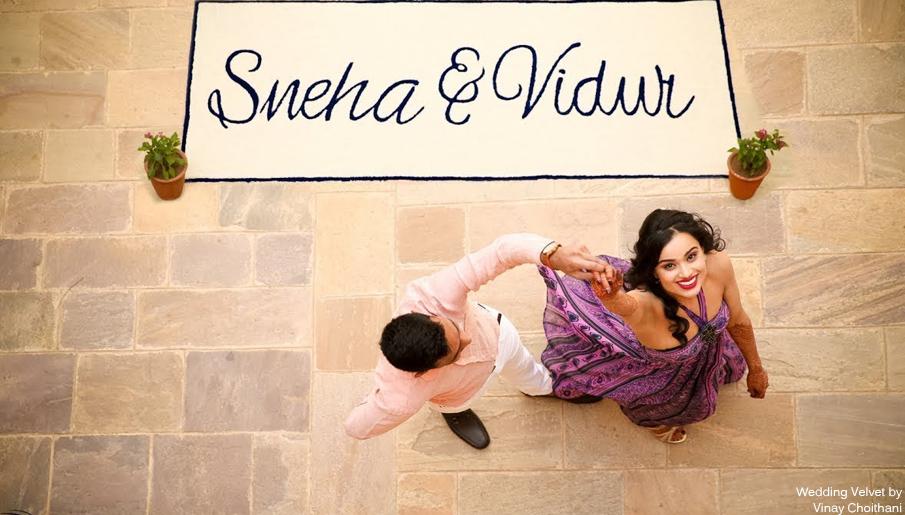 pre wedding shoot Samode Palace
