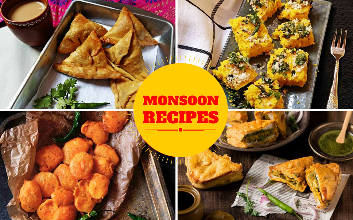 Food items to enjoy the Monsoon in Jaipur