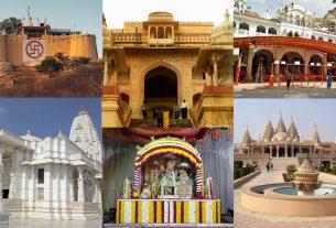 Heritage temples in Jaipur