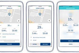 digital parking app