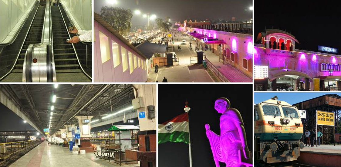 Jaipur station makeover in process