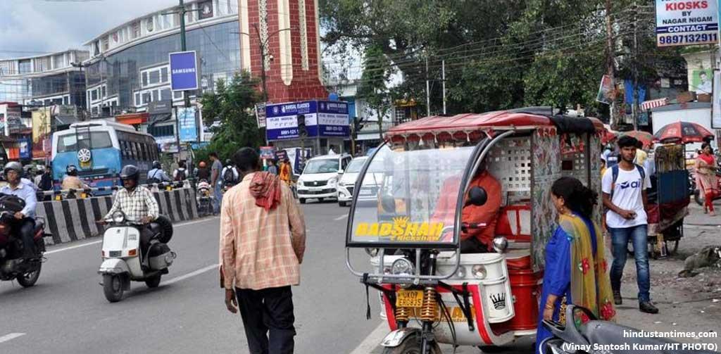 electric rickshaw route in jaipur