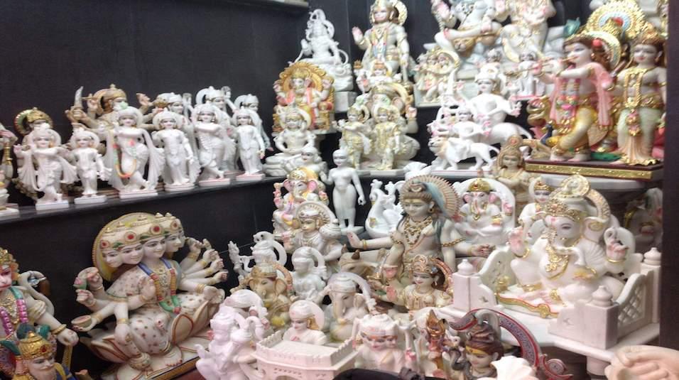 marble murti in jaipur