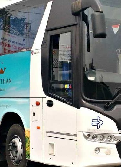 Rajasthan State Roadways luxury buses