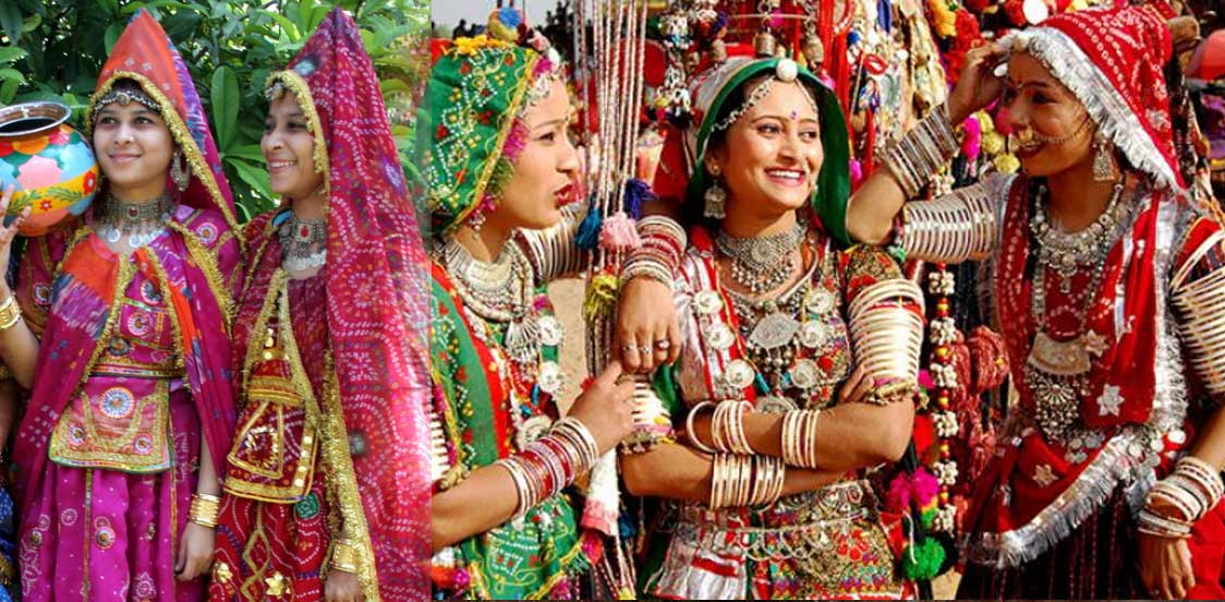 All about Traditional Rajasthani dresses for men and women ...