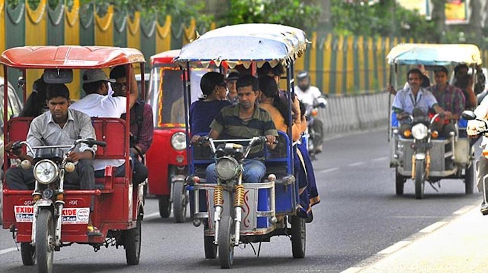 process of licensing e-rickshaws