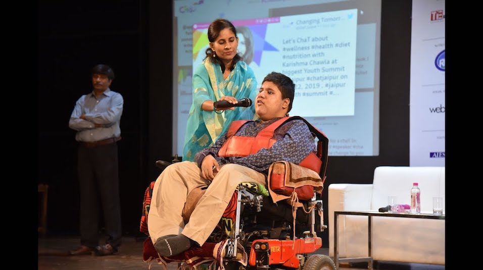 World Youngest Differently Abled Patent Holder