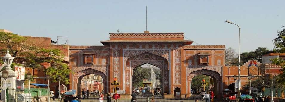 naya pol or new gate of jaipur