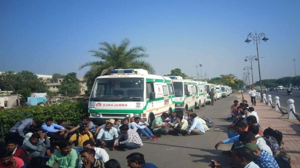 rajasthan ambulance strike
