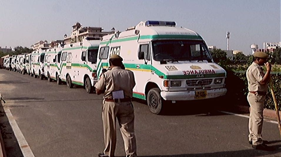 rajasthan ambulance strike