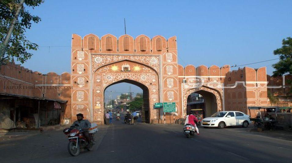 suraj pol walled city of jaipur
