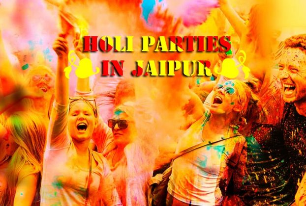 Holi parties in Jaipur