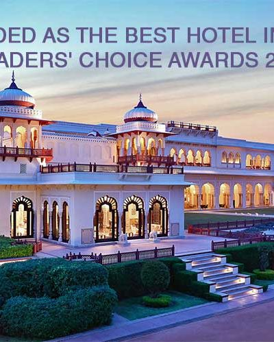 Hotel Rambagh Palace awarded as the best hotel in India 2020